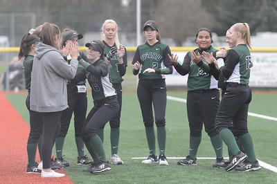 THS GIrls Varsity Softball vs McNary