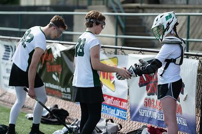 THS Annual Lacrosse Boys vs Girls