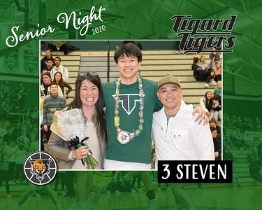 Senior Night 2020-Steven