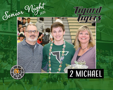 Senior Night 2020-Michael