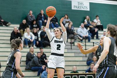 THS Girls Varsity Basketball vs St Mary's