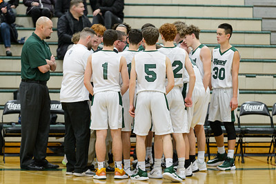 Tigard HS JV Boys Basketball vs Canby