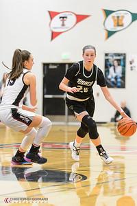 THS Varsity Girls Basketball vs Tualatin -Away