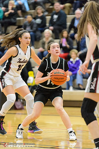 THS Varsity Girls Basketball vs Tualatin -Away