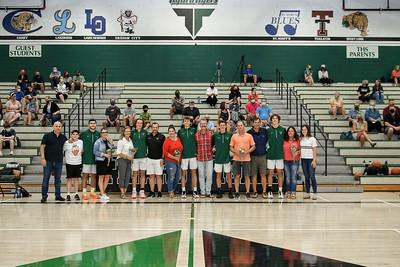 THS Boys Varsity Basketball Senior Night