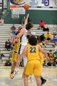 THS Boys Varsity Basketball vs Aloha