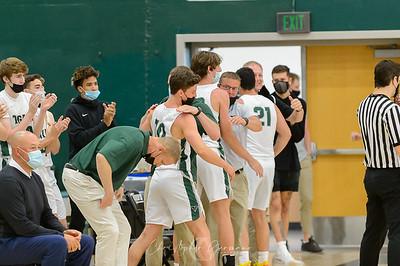 THS Boys Varsity Basketball vs Canby
