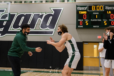 THS Boys Varsity Basketball vs Lake Oswego