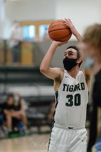 THS Boys Varsity Basketball vs Lakeridge