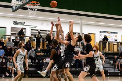 THS Boys Varsity Basketball vs Tualatin