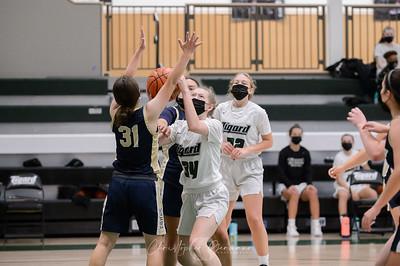 THS Girls JV Basketball vs Canby