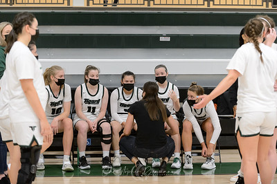THS Girls Varsity Basketball vs Lake Oswego