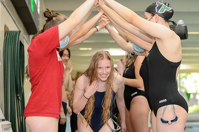 THS Swimming Senior night