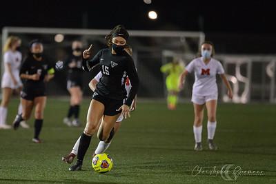 THS Var Girls Soccer vs McMinnville