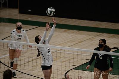 THS Varsity Volleyball vs Lakeridge