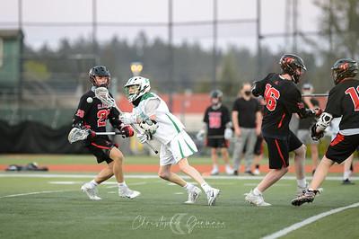 THS Boys JV Lacrosse vs Clackamas
