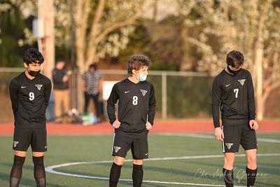 THS Boys Varsity Soccer vs Lake Oswego
