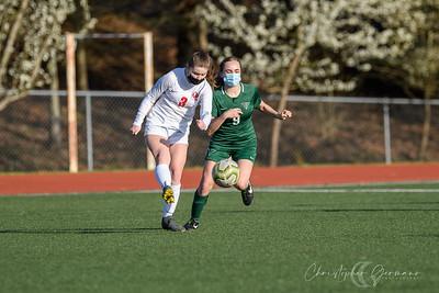 THS JV Girls Soccer vs Oregon City