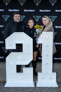 THS Varsity Girls Soccer Senior Night