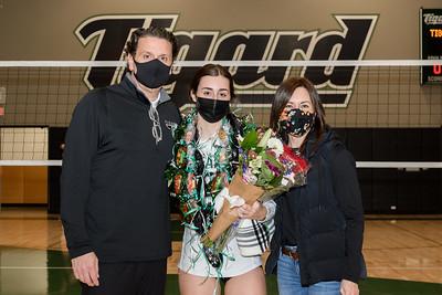 THS Varsity Volleyball Senior Night