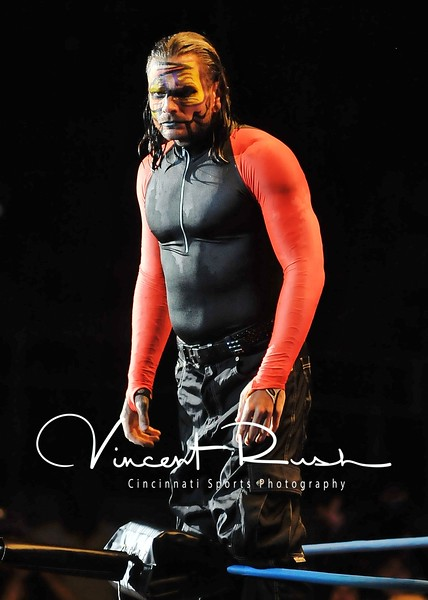 TNA Impact Wrestling from Hara Arena in Dayton, Ohio. Total Non Stop Action Professional Wrestling. TNA Photos by Dayton Sports Photographer Vincent Rush of Cincinnati Sports Photography. Jeff Hardy