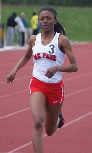 Jayla Fleming ran strong and brave in several races at nationals.