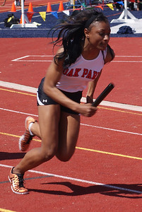 Johnyce Powell of Oak Park was consistent in her races.