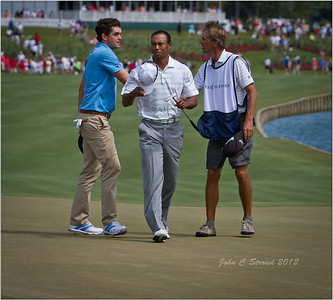 TPC Sawgrass - Tiger and Phil at The Players Tournament 2012