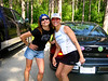 Hot trail babes Christine and Beth.