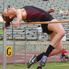 Sabrina Pickwell in the girls high jump at the Times News Relays. Photo by Ned Jilton II