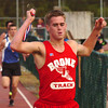 winner in the boys 1600 meters at the Times News Relays. Photo by Ned Jilton II