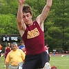 Science Hill's Hunter Boone in the men's long jump at the Tmes News relays. Photo by Ned Jilton II