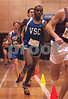 Kevon Carter, VS Central, Boys Mile Run.   Friendship Games, December 15th, Photo by Kathy Leistner. Photo by Kathy Leistner