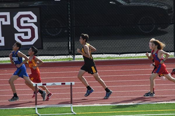 Middle School Track Meet (04-11-18)