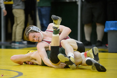 138 Tualatin vs West Linn Bout 195 Lennehan v Wall