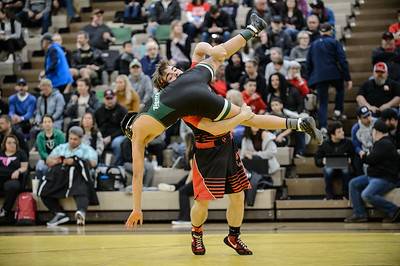 145 Oregon City vs Tigard Bout 156 Tarbet v Bran-Hernandez