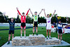 Masters Miss-and-Out podium