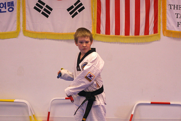 Tae Kwon Do Nunchuck class