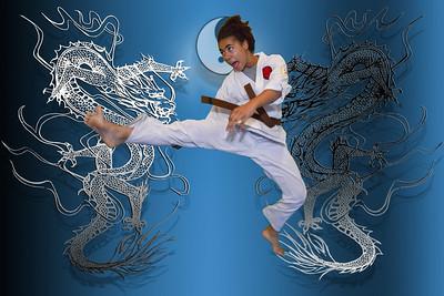 dragons kicking