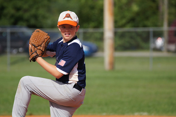 June 2012- Tiger 12U Tournament Action