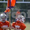 For the record, IT IS NOT A CLEMSON FLAG. It's a Talahi Tiger flag.