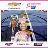 Chevy NASCAR Breast Cancer Survivor Party 2013