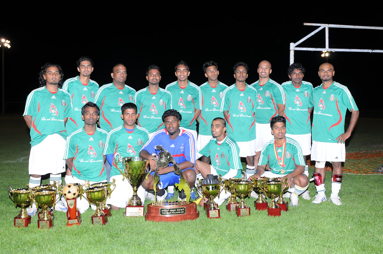 2009 Soccer Champions - Senior Division -  Eelam Challengers From Montreal.