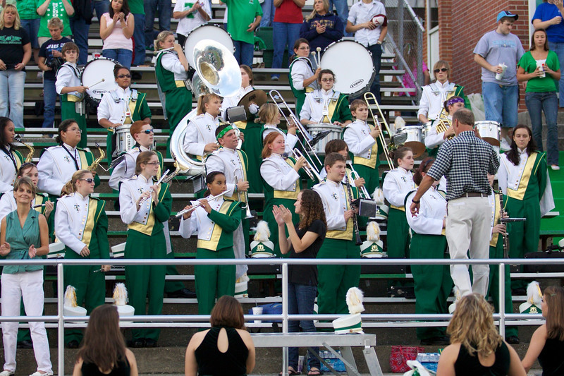 Tazewell's band.  Mr. French is the director.  Mr. French lives next door to Jill and Tim.