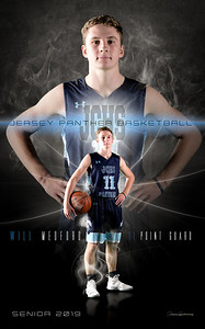 Will Basketball Banner 2019