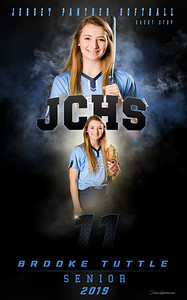 Brooke Tuttle Banner - Softball