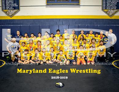 Eagles Wrestling Team 2019