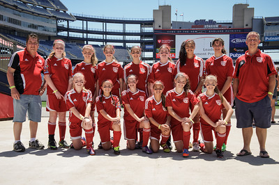 Team photos NHSA Day at the Revs taken on June 2, 2013 at the Gillette Stadium in Foxboro, MA. Printing prohibited without written consent of photographer.