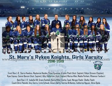 Ryken Girls Varsity Team Final 2018-2019