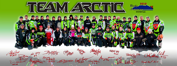 Team Arctic Cat with reflection with Official Logo Only_